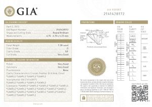 Deimantų sertifikatai - GIA